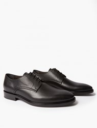 Lanvin Black Derby Shoes