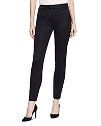 The Kooples Lace Waist Stretch Pants Black