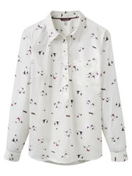 Joules Charlotte Pop Over Shirt Fox And Pheasant