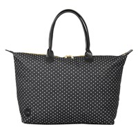 Mi Pac Denim Spot Weekender Bag Black White