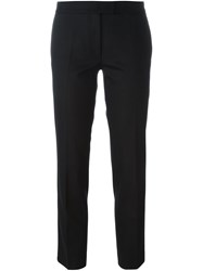 Joseph Cropped Tailored Trousers Black