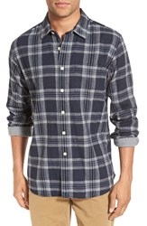 Grayers Men's 'Drummond' Trim Fit Plaid Double Woven Sport Shirt