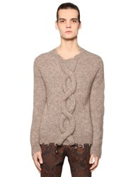 Etro Braid Detail Mohair Blend Sweater