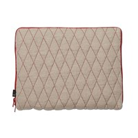 Hay Quilt Sleeve Laptop Cover Red 15