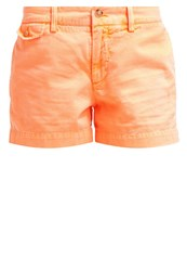 Polo Ralph Lauren Sloane Denim Shorts Flo Beach Melon Orange