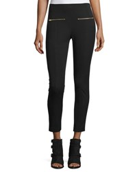 Rag And Bone Annie Cropped Ponte Pants Black