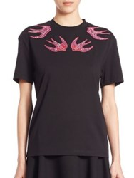 Mcq By Alexander Mcqueen Classic T Shirt Darkest Black