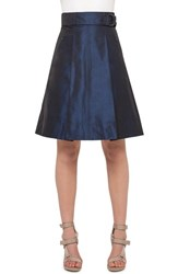 Women's Akris Punto Metallic A Line Skirt