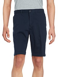 Saks Fifth Avenue Flat Front Slim Fit Shorts Nantucket