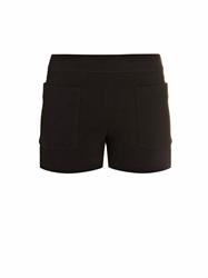 Balenciaga Patch Pocket Bonded Crepe Shorts
