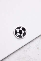 Urban Outfitters Vintage Soccer Ball Patch Black
