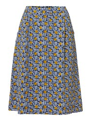 Dickins And Jones Spot Printed Alice A Line Skirt Multi Coloured