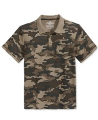 American Rag Men's Camouflage Polo Only At Macy's Green