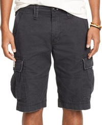 Denim And Supply Ralph Lauren Chino Cargo Shorts Army Black