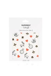 Topshop Paperself Wonderland Temporary Tattoo White