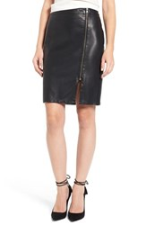 Cupcakes And Cashmere Women's Emmett Faux Leather Pencil Skirt