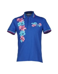 Cesare Paciotti 4Us Polo Shirts Blue