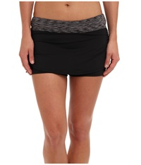 Tyr Sonoma Active Mini Swim Skort Black Women's Swimwear
