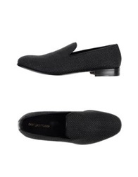 Sergio Rossi Moccasins Steel Grey