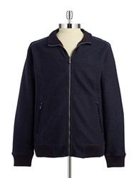 Tommy Bahama Zip Front Sweater Blue
