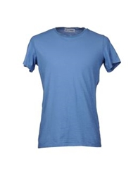 Lo Not Equal Short Sleeve T Shirts Pastel Blue