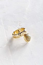 Urban Outfitters Mystic Nights Statement Ring Gold