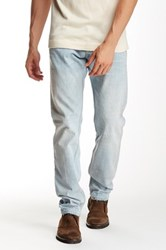 Gilded Age Straight Leg Bleach Out Jean Blue