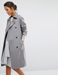 Selected Uffi Trenchcoat Grey