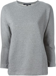 Sofie D'hoore Boxy Fit Sweatshirt Grey