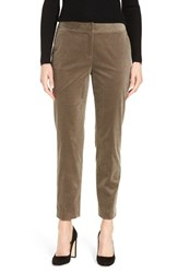 Nordstrom Women's Collection Stretch Corduroy Ankle Pants