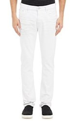 Earnest Sewn Whiskered Jeans White