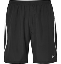 Nike Running Challenger 2 In 1 Dri Fit And Mesh Shorts Black