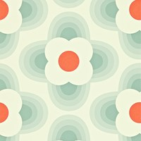 Orla Kiely Striped Petal Wallpaper 110404