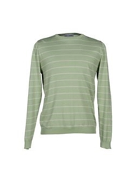Lo Not Equal Sweaters Light Green
