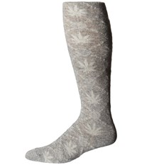 Huf Angora Thigh High Nordic Sock Grey Heather Thigh High Socks Shoes Gray