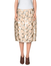 Ailanto Knee Length Skirts Light Pink
