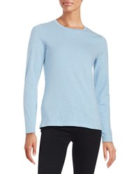 Lord And Taylor Compact Tee Blue