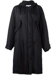 Katharine Hamnett Hooded Parka Black