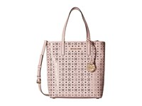 Michael Michael Kors Hayley Medium North South Top Zip Tote Blossom Ballet Tote Handbags Pink