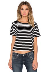 Kain Label Ruby Tee Black And White