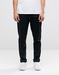 Nudie Jeans Brute Knut Drop Crotch Extreme Tapered Dry Cold Black Cold Black