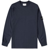 Mki Miyuki Zoku Mki Long Sleeve Arm Badge Tee Blue