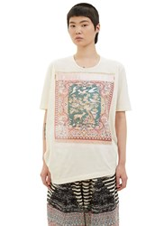 Anntian Tapestry Print T Shirt Naturals