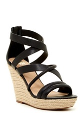 Joe's Jeans Robina Wedge Sandal Black