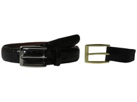Torino Leather Co. 30Mm Alligator Calfskin Black Men's Belts