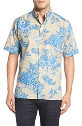 Reyn Spooner Men's 'Lotus Falls' Short Sleeve Sport Shirt