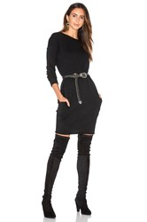 Demy Lee Lila Sweater Dress Black