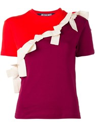 Jacquemus Patch T Shirt Red