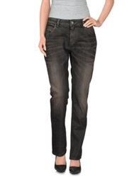 Twin Set Simona Barbieri Denim Pants Black