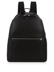 Smythson Burlington Leather Backpack Black